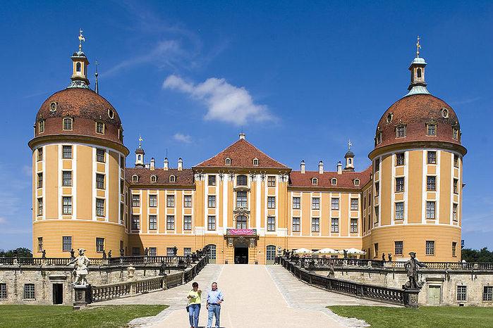 Замок Морицбург (Schloss Moritzburg)-часть 1 53653
