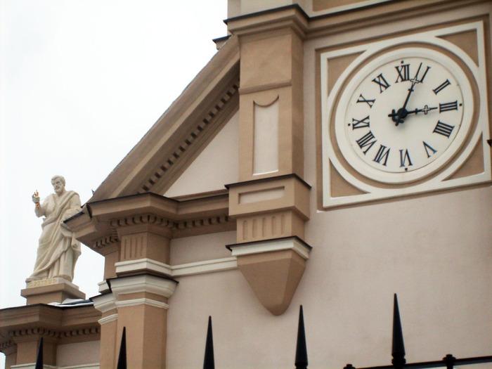 одесса, церковь, часы /><br />