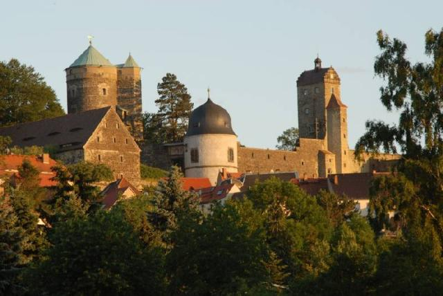 Burg Stolpen-вид снаружи 53231
