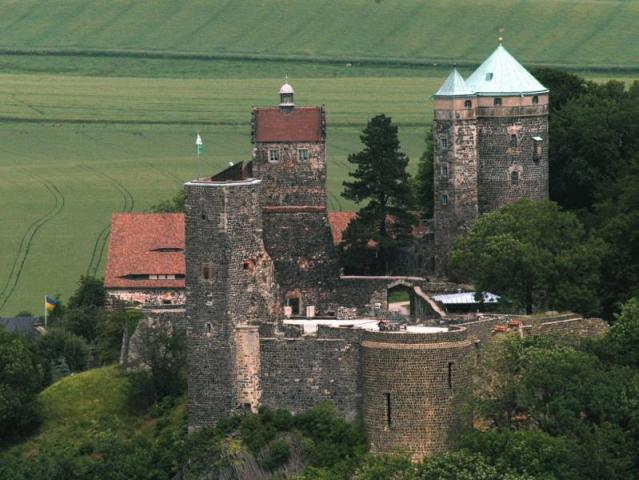 Burg Stolpen-вид снаружи 70737