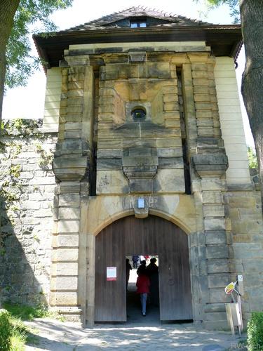Burg Stolpen-вид снаружи 61610
