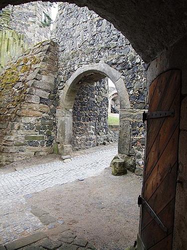 Burg Stolpen-вид снаружи 98989