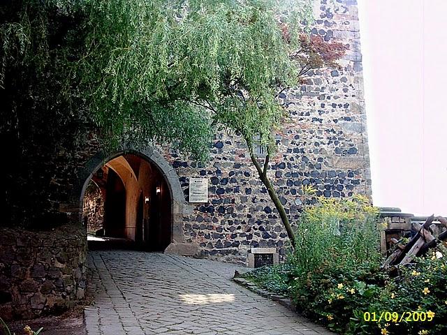 Burg Stolpen-вид снаружи 77530