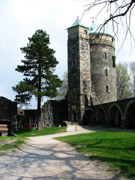 Burg Stolpen-вид снаружи 88980