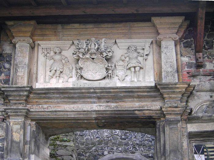 Burg Stolpen-вид снаружи 57770