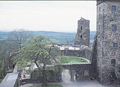 Burg Stolpen-вид снаружи 60179