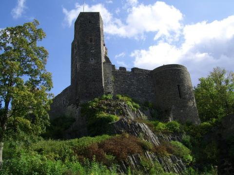 Burg Stolpen-вид снаружи 35254