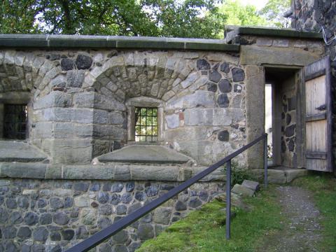 Burg Stolpen-вид снаружи 13460