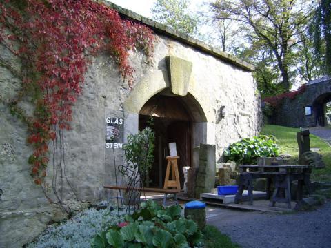 Burg Stolpen-вид снаружи 74884