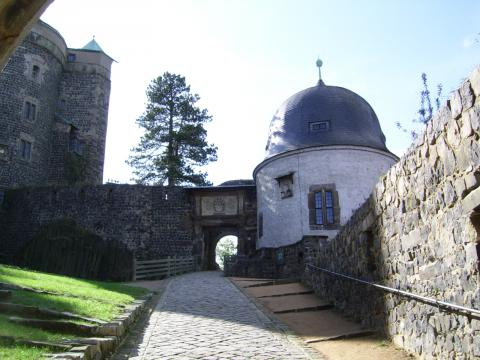 Burg Stolpen-вид снаружи 86647