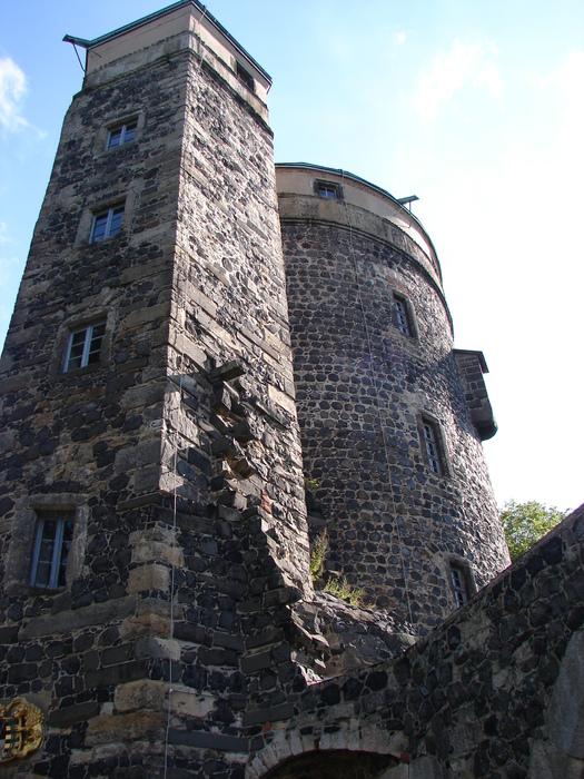 Burg Stolpen-вид снаружи 60367