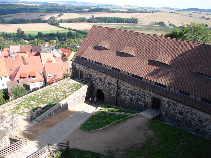 Burg Stolpen-вид снаружи 48959