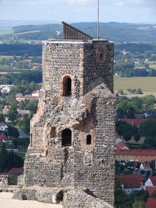 Burg Stolpen-вид снаружи 34338