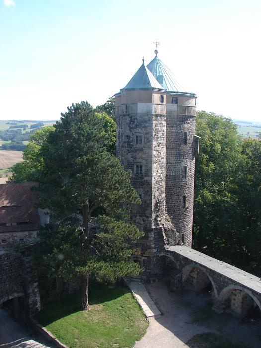 Burg Stolpen-вид снаружи 62711