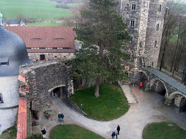 Burg Stolpen-вид снаружи 20601
