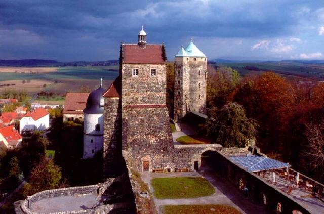 Burg Stolpen-вид снаружи 87246
