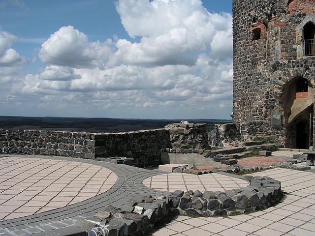 Burg Stolpen-вид снаружи 86621