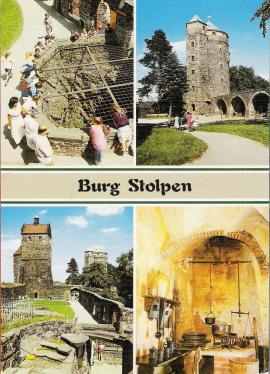 Burg Stolpen-вид снаружи 49201