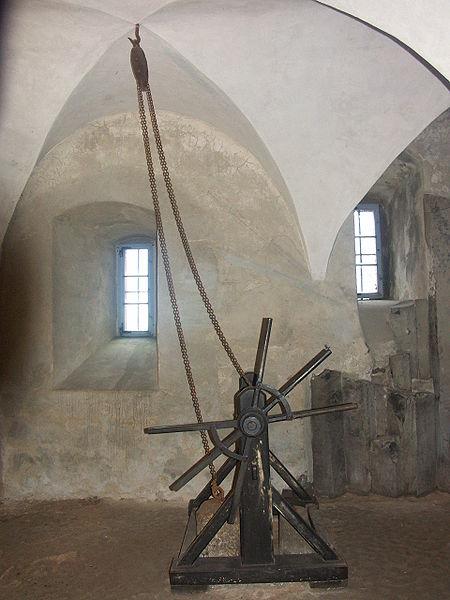 Burg Stolpen-вид внутри 79407
