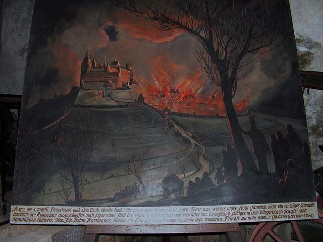 Burg Stolpen-вид внутри 11749