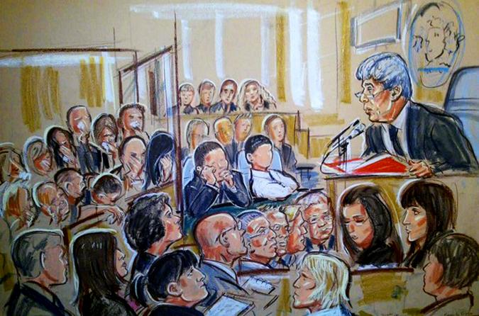 Сцены в Шеффилдском Суде