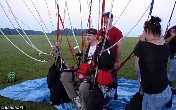Полёт на воздушных шарах