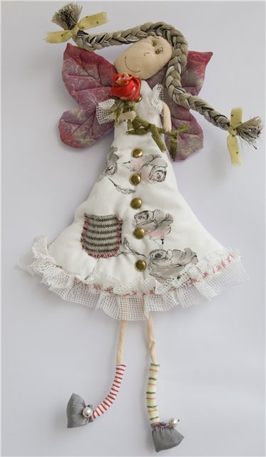 cute fabric dolls for decorating
