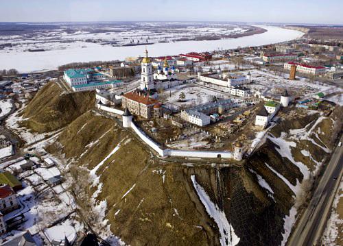Фотография Дмитрия Анатольевича Медведева - Тобольский кремль