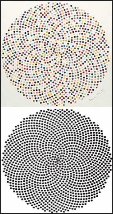 точечные рисунки: