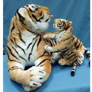 мягкая игрушка хасбро hasbro тигрица с тигренком отличный подарок в год тигра на 14 февраля валентинов день