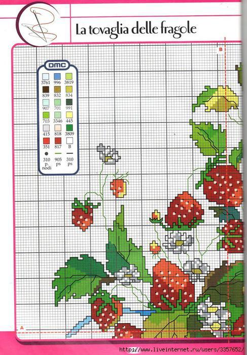 вышивка.ягоды - Самое