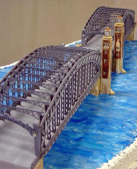 торт мост