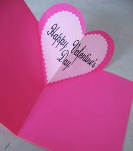 simple and original valentine: easy to make