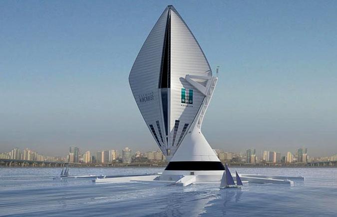 Гигантские дирижабли на водороде возможно откроют новую эпоху в Luxury Travel.