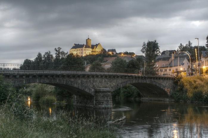 Крепость Шарфенштайн (нем. Burg Scharfenstein) 42563
