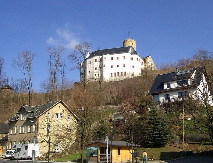 Крепость Шарфенштайн (нем. Burg Scharfenstein) 65087
