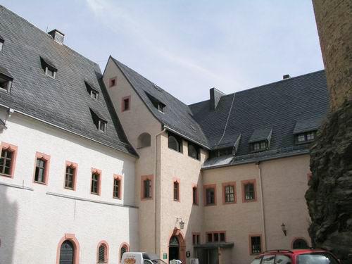 Крепость Шарфенштайн (нем. Burg Scharfenstein) 90414