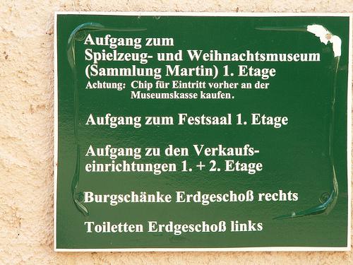 Крепость Шарфенштайн (нем. Burg Scharfenstein) 82589
