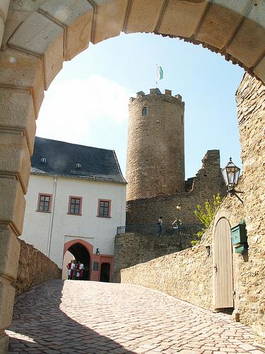 Крепость Шарфенштайн (нем. Burg Scharfenstein) 70767