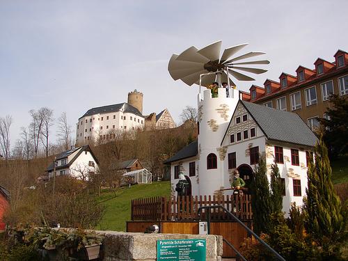 Крепость Шарфенштайн (нем. Burg Scharfenstein) 71713