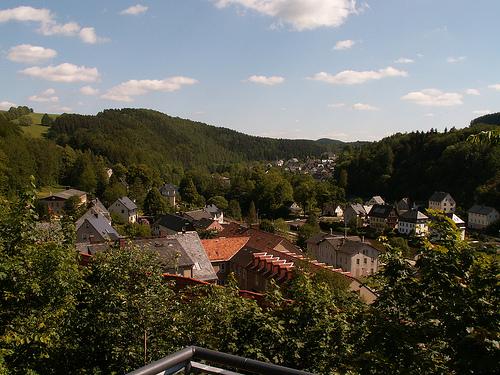 Крепость Шарфенштайн (нем. Burg Scharfenstein) 23495