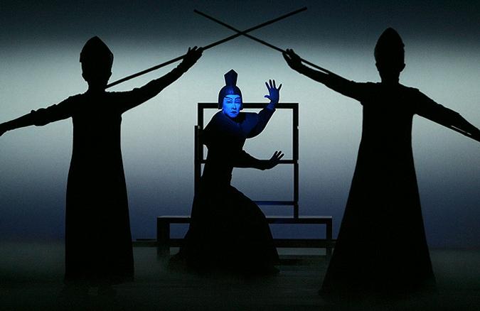 Репетиция спектакля Роберта Уилсона 'The Grand Voyage', Тайбэй, Тайвань, 5 февраля 2010 года.