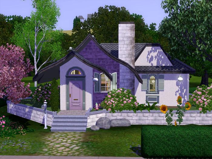 100 домов для Sims 3.