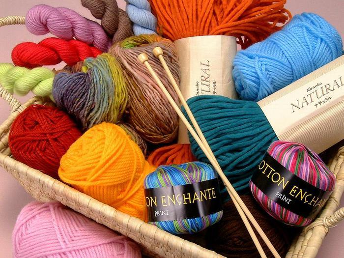 Правила подбора пряжи для вязания