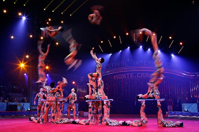 Итоги 34-го фестиваля циркового искусства в Монте-Карло, 19 января 2010 года.