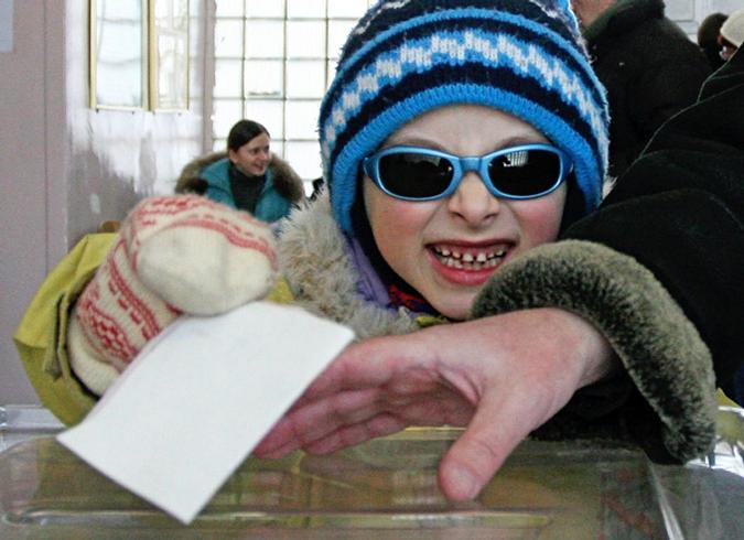Второй тур выборов на Украине, он сложный самый, Украина, 7 февраля 2010 года.