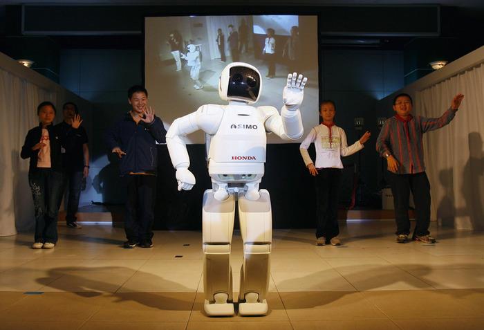 Honda's humanoid robot