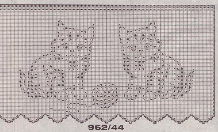 Филейное вязание (схемы)
