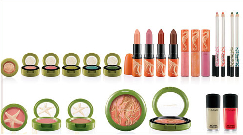 MAC To the Beach Collection for Summer 2010