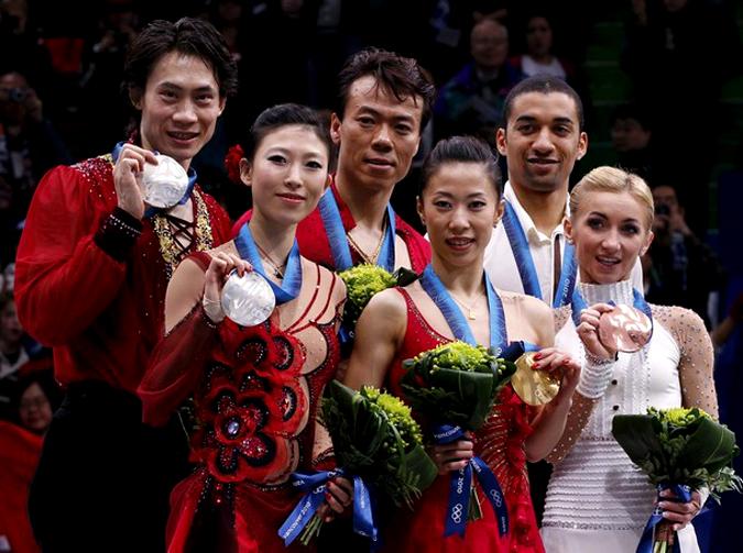 Олимпийская произвольная программа в Ванкувере, 15 февраля 2010 года.